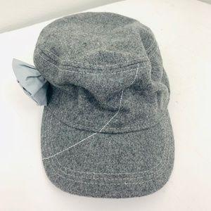 Ibex Wool Blend Flower Gray Designer Baseball Hat